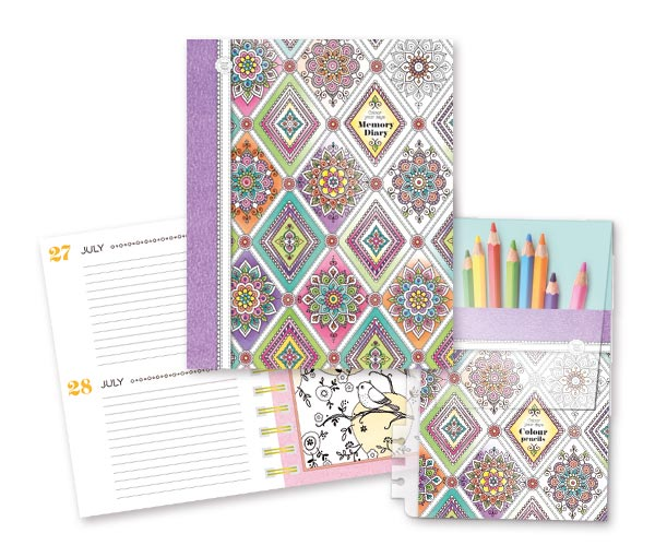 Colour your days Memory Diary