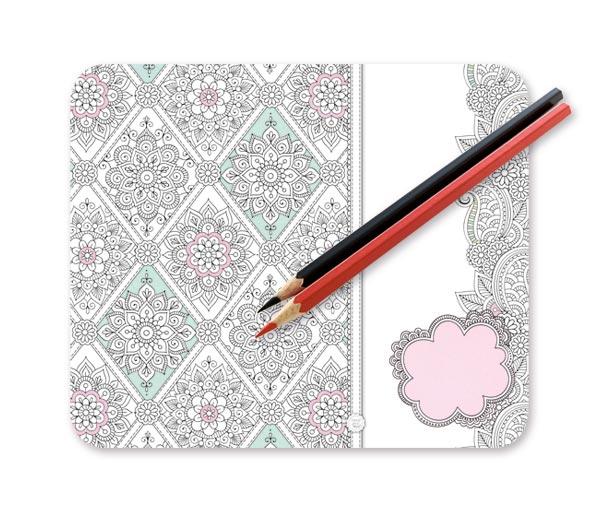 Colour your days Mousepadblock